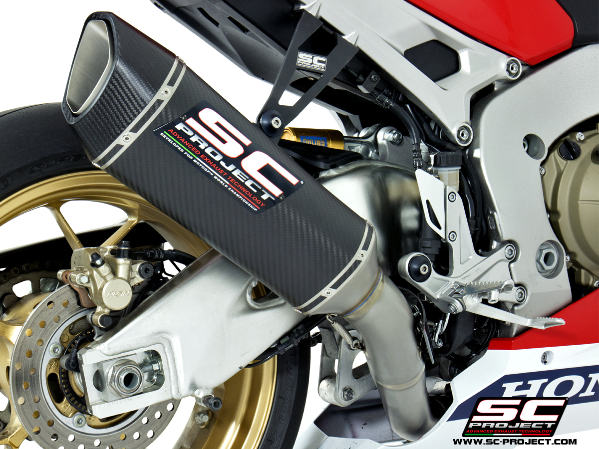 honda cbr 1000rr best slipon exhaust sc-project