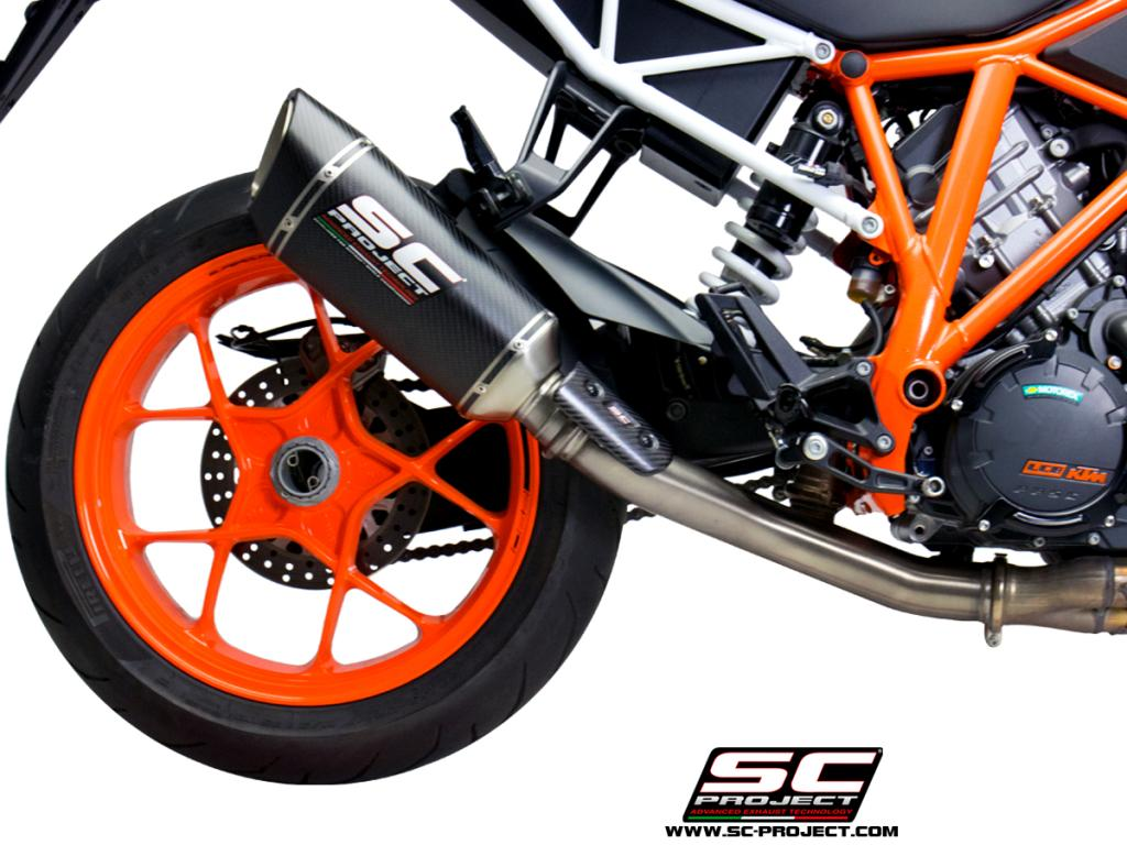 ktm 1290 duke best exhaust full system scproject akrapovic decat