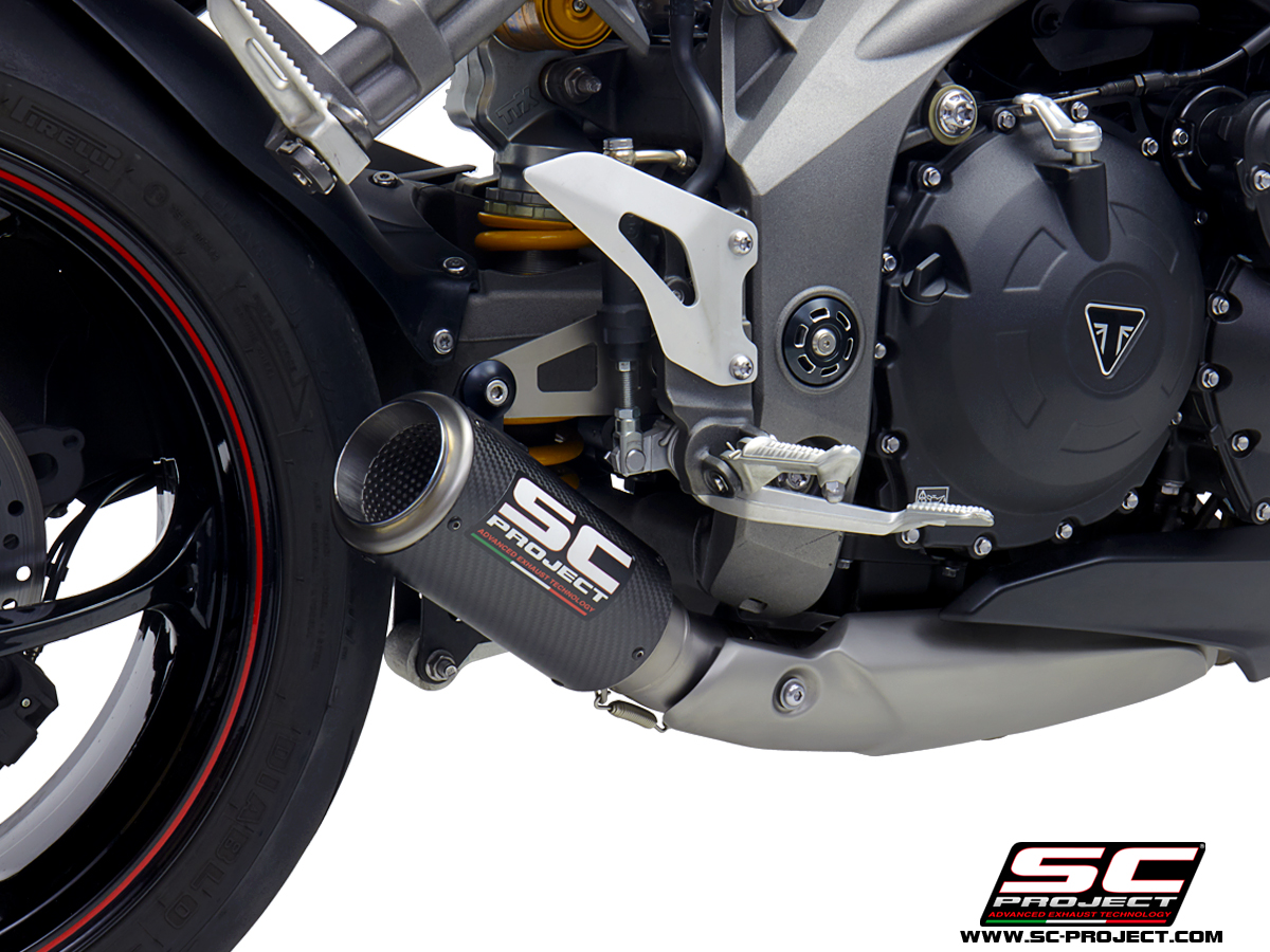 crt exhaust triumph speed triple rs exhaust best