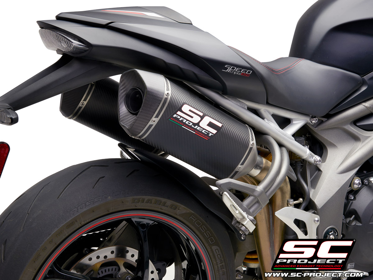 dual exhaust triumph speed triple sc-project 2019 2020