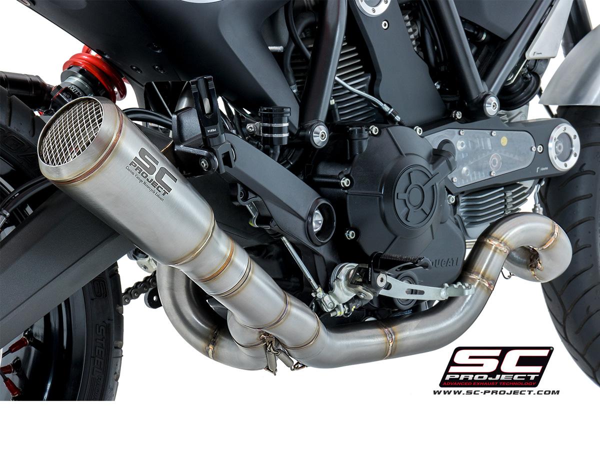 Choosing The Best Exhaust For Your Ducati Scrambler