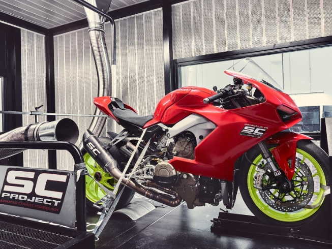 ducati panigale v4 best scproject exhaust full system