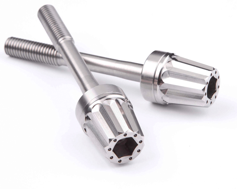 Titanium Rear Sub Frame Bolts by MotoCorse For Ducati Panigale