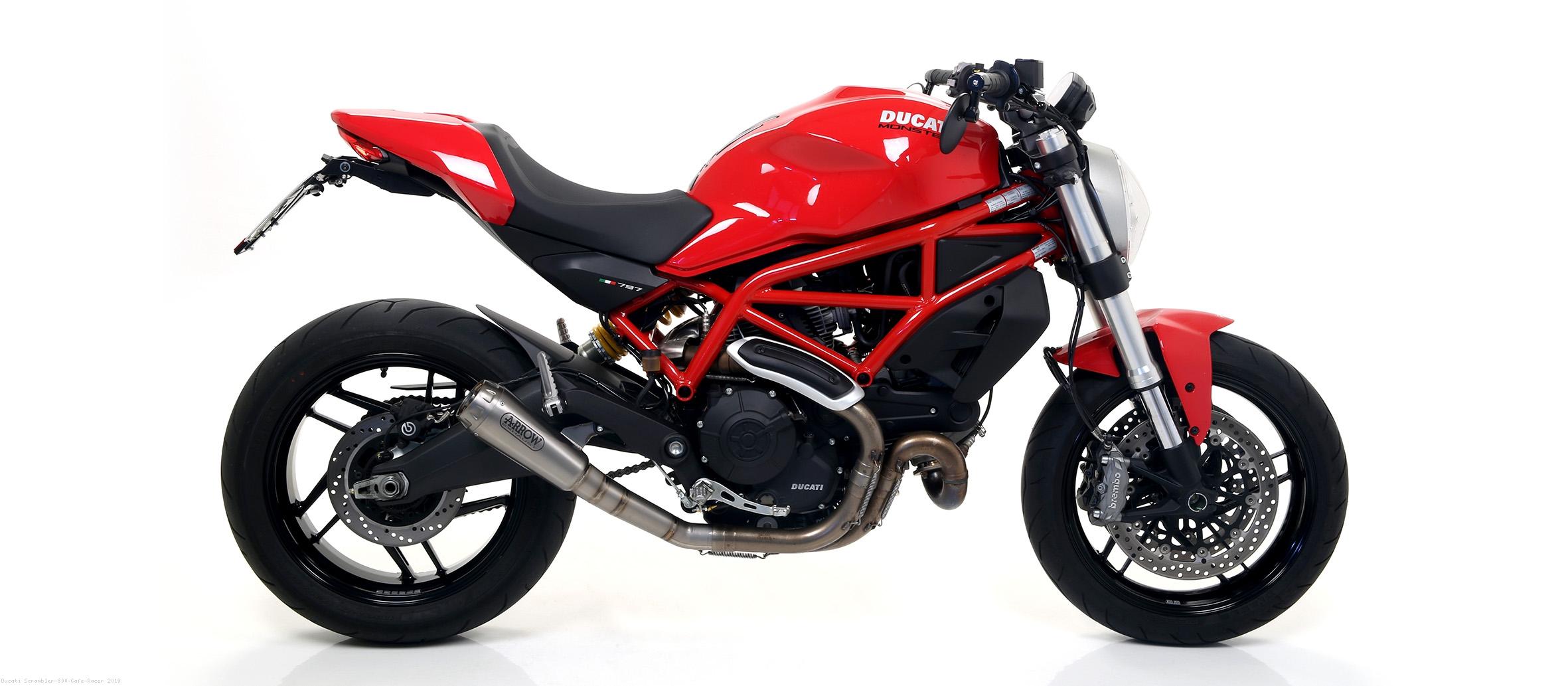 Pro Race Exhaust By Arrow Ducati Scrambler 800 Cafe