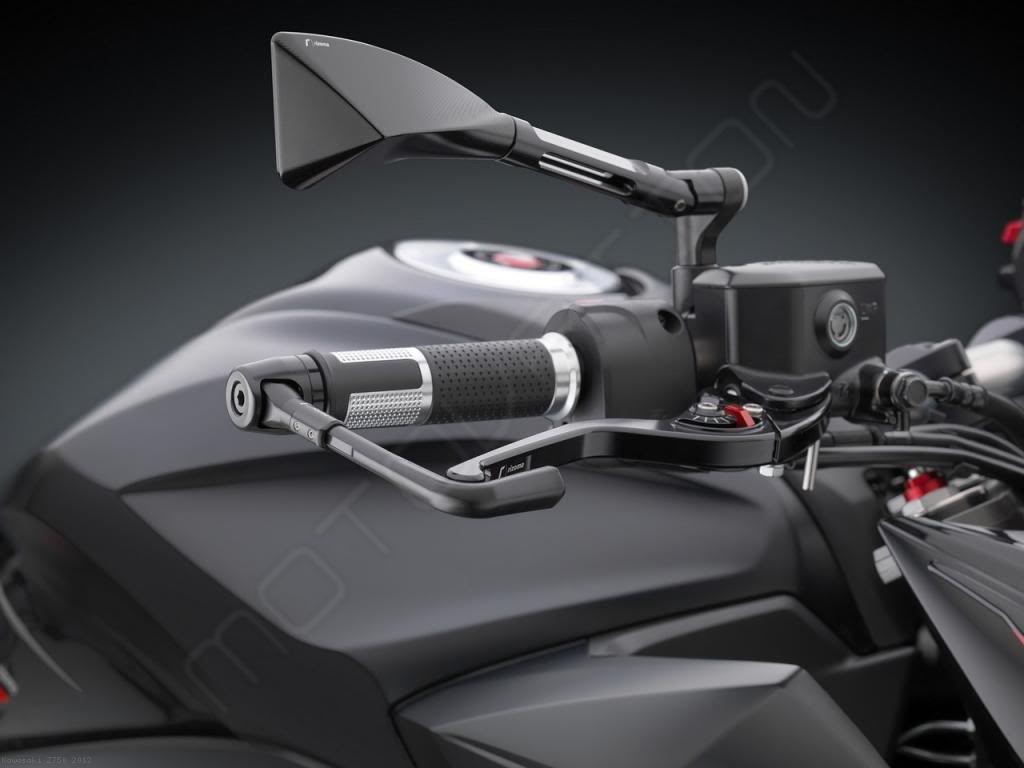 rrc clutch lever by rizoma kawasaki z750 2012 lcr301. Black Bedroom Furniture Sets. Home Design Ideas