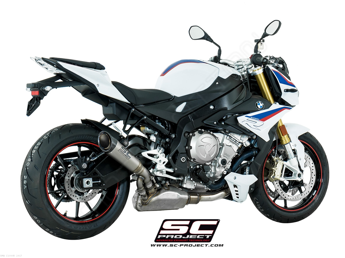 s1 exhaust by sc project bmw s1000r 2017 b27 t41t. Black Bedroom Furniture Sets. Home Design Ideas