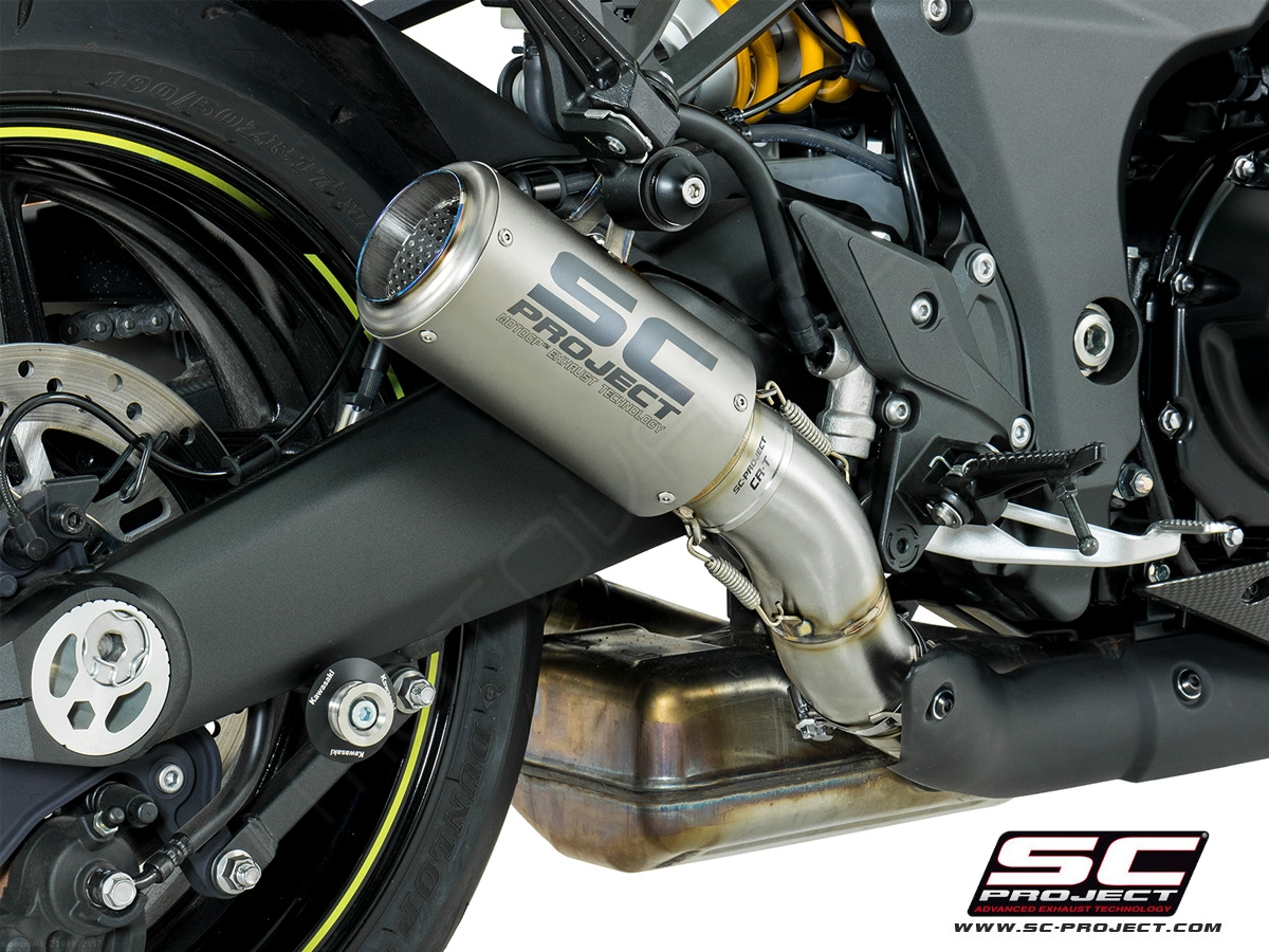 Cr T Exhaust By Sc Project Kawasaki Z1000 2017 K24 36t