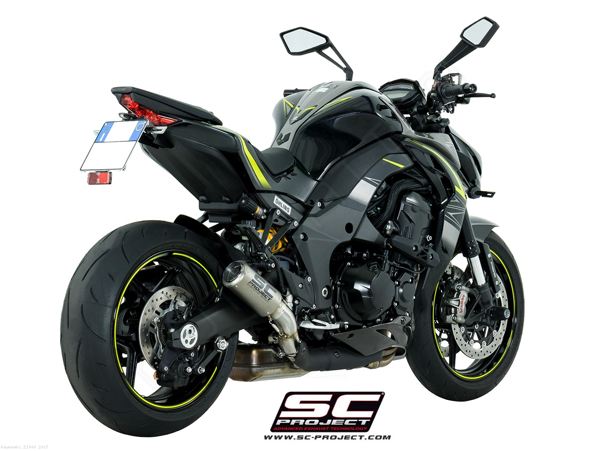 Dual Titanium CR-T Exhaust by SC-Project Kawasaki / Z1000 ...