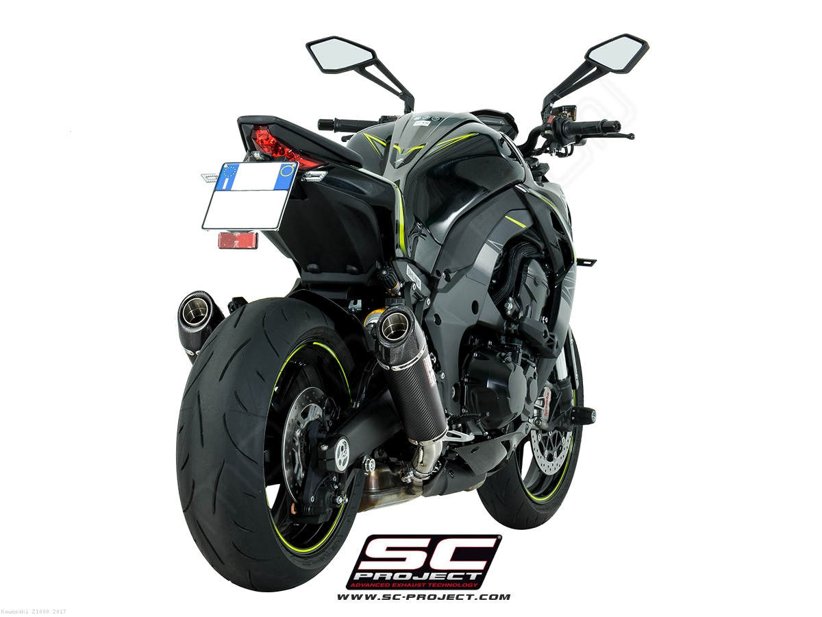 Conic Exhaust By Sc Project Kawasaki Z1000 2017