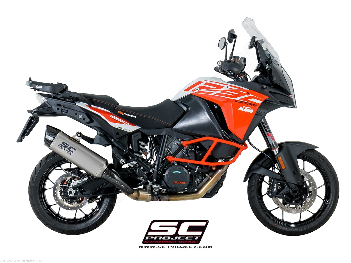 "Bmw Loyalty Program >> ""Adventure"" Exhaust by SC-Project KTM / 1290 Super Adventure / 2016 (KTM08-86T)"
