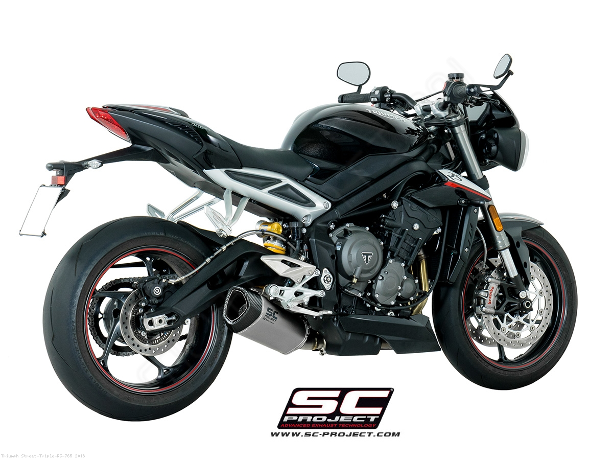 sc1 r exhaust by sc project triumph street triple rs 765 2018 t18 93. Black Bedroom Furniture Sets. Home Design Ideas