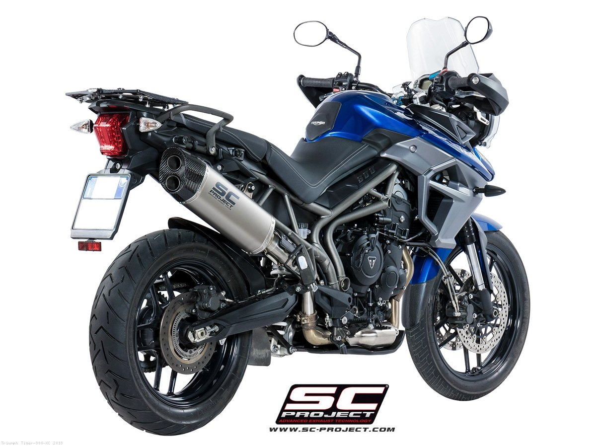 Adventure Exhaust By Sc Project Triumph Tiger 800 Xc 2018 T19 85t