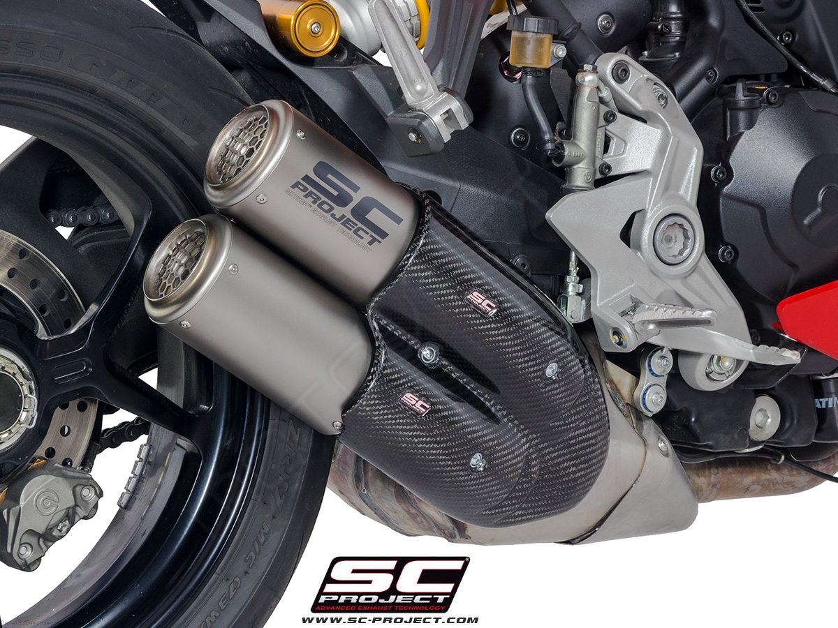 Ducati Supersoprt S Titanium Twin Cr T Scproject Muffler M M Y Ducati Supersport S on Honda Dual Sport Kit