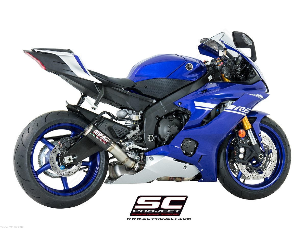 Cr T Exhaust By Sc Project Yamaha Yzf R6 2018 Y21 H36