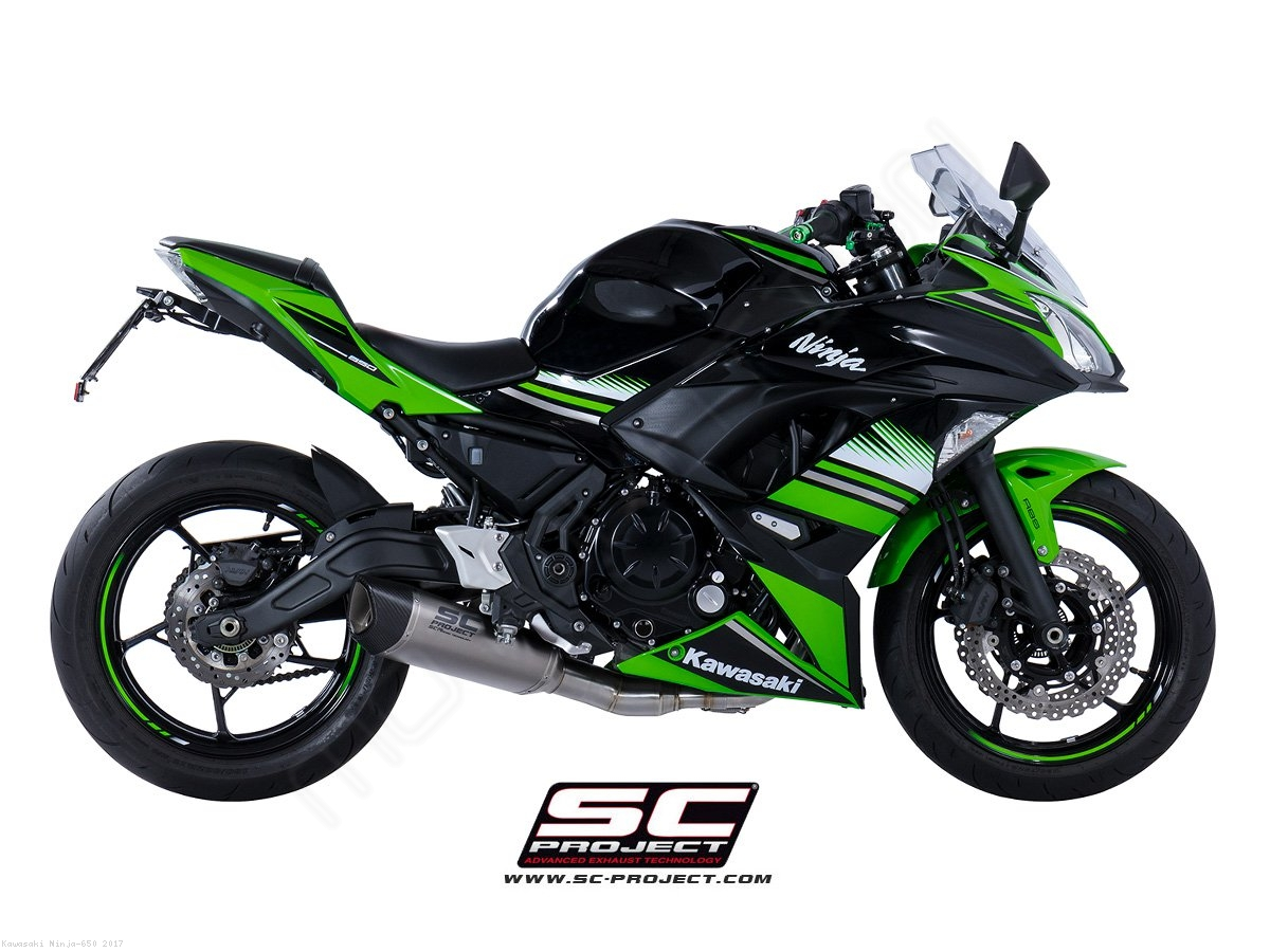 Sc1 R Full System Exhaust By Sc Project Kawasaki Ninja 650 2017 650r Engine Diagram