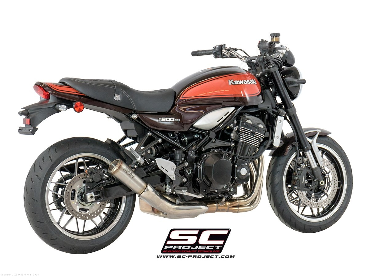 s1 gp exhaust by sc project kawasaki z900rs cafe 2018. Black Bedroom Furniture Sets. Home Design Ideas