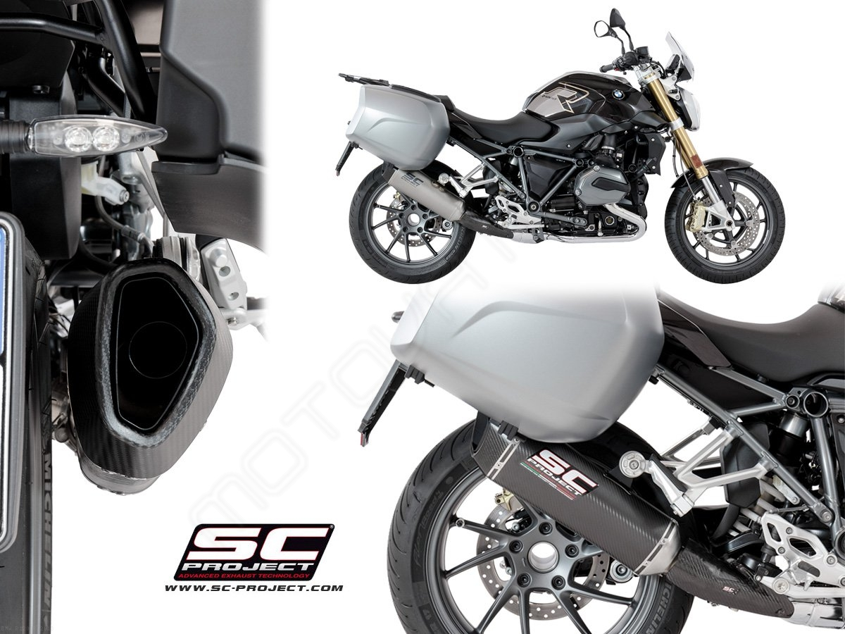 sc1 r exhaust by sc project bmw r1200r 2018 b29 93. Black Bedroom Furniture Sets. Home Design Ideas