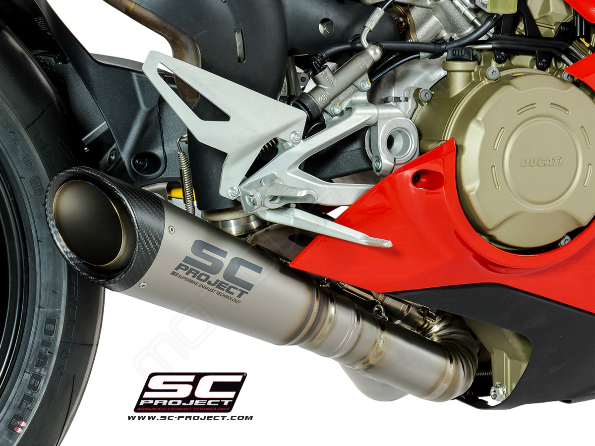 S1 Exhaust By Sc Project Ducati Panigale V4 2018 D26 Lt41t