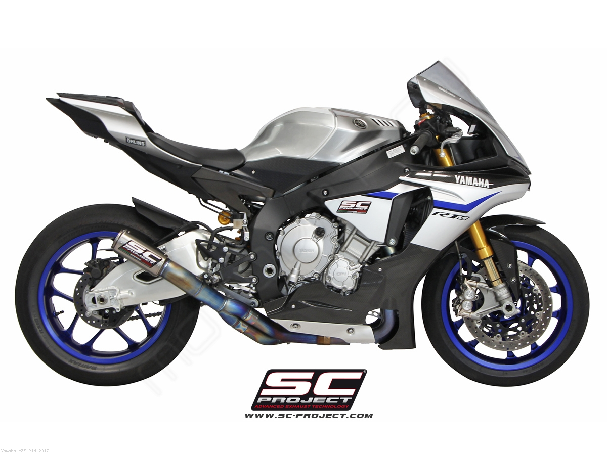 Cr T Exhaust By Sc Project Yamaha Yzf R1m 2017 Y11 De36