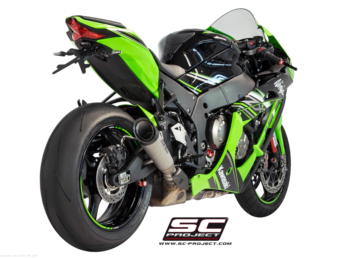 S1 Exhaust For Stock Cat By SC Project Kawasaki Ninja ZX 10R