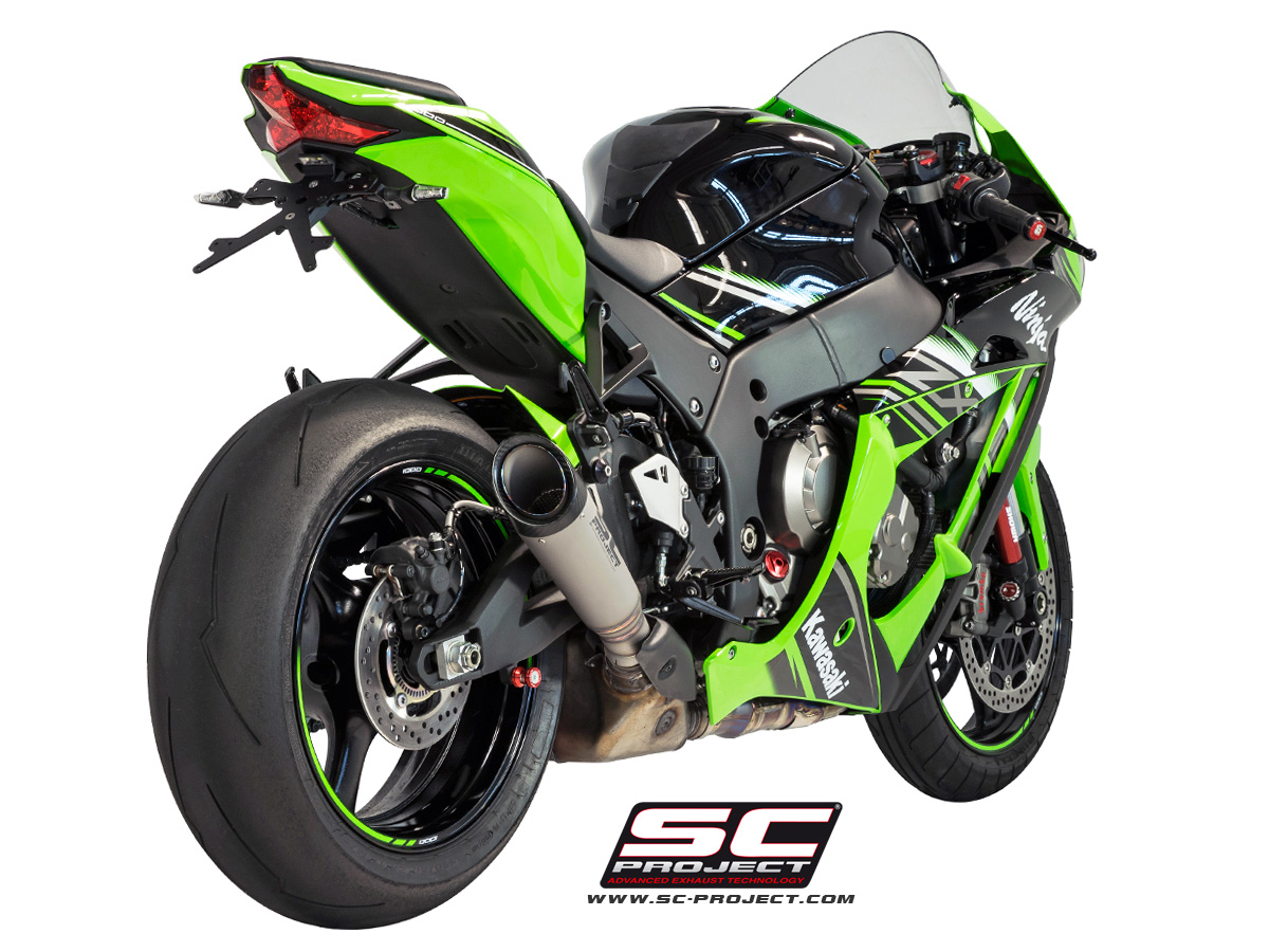 S1 Exhaust For Stock Cat By Sc Project K22 Kt41t Kawasaki
