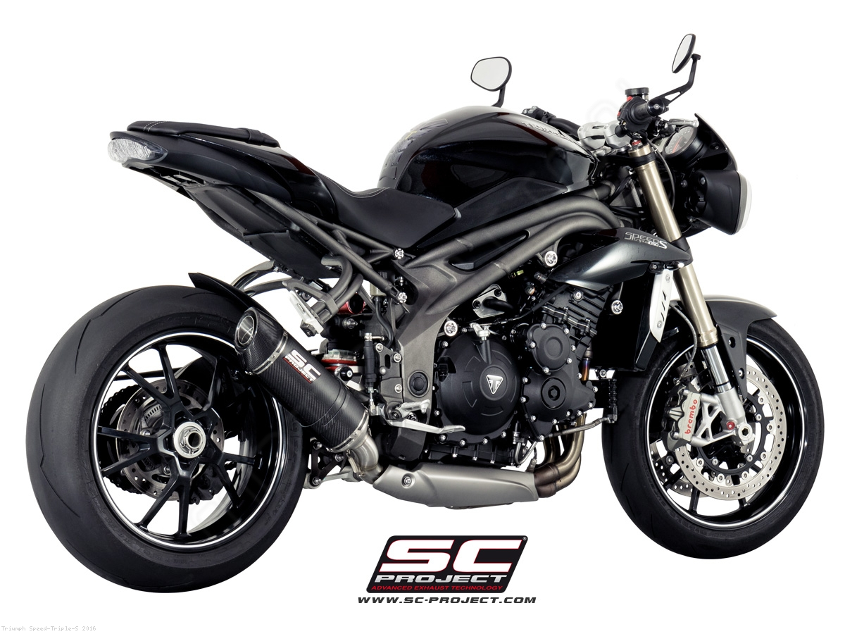oval low mount exhaust by sc project triumph speed triple s 2016 t16 l12. Black Bedroom Furniture Sets. Home Design Ideas