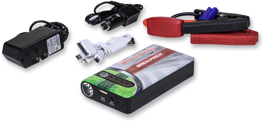 Ballistic Back Up Power Supply And Emergency Jump Start Kit