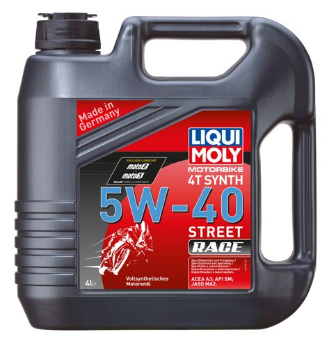liqui moly synthetic 4t 5w 40 4l motor oil 2201685. Black Bedroom Furniture Sets. Home Design Ideas