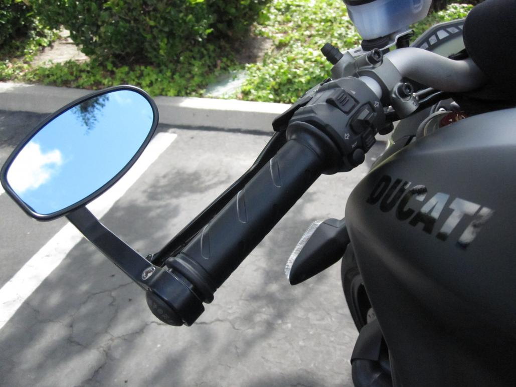 Rizoma Reverse Retro Universal Mirror