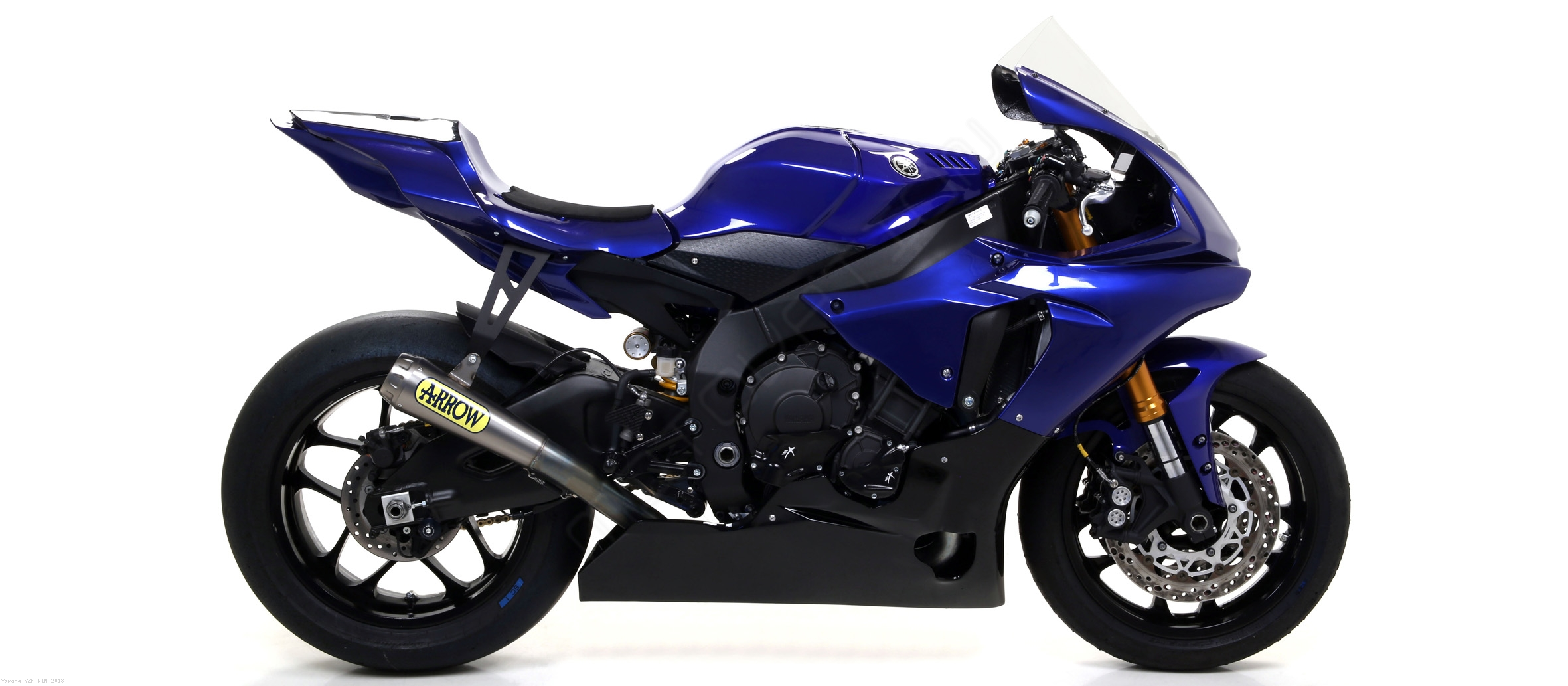 Competition evo full exhaust system by arrow yamaha for Yamaha exhaust systems
