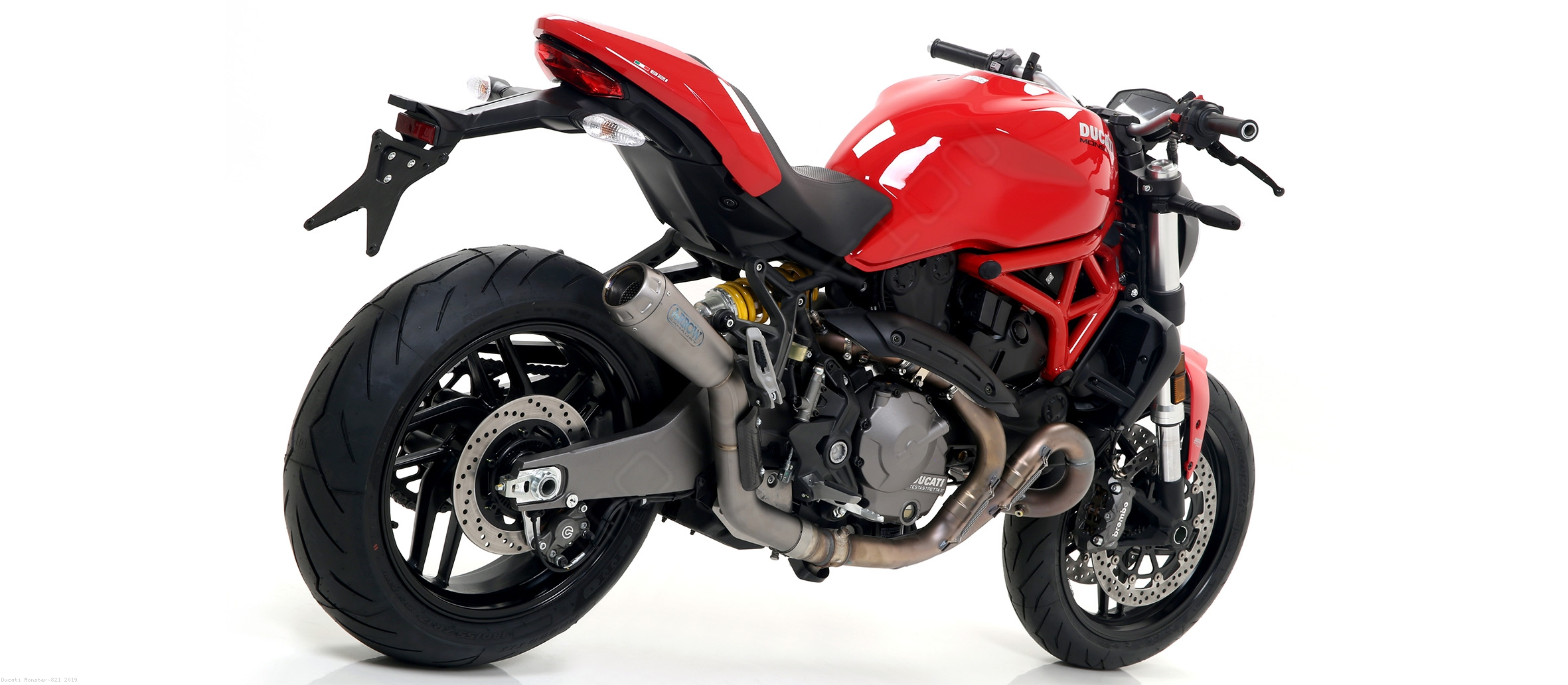... Pro Race Exhaust by Arrow Ducati / Monster 821 / 2019 ...