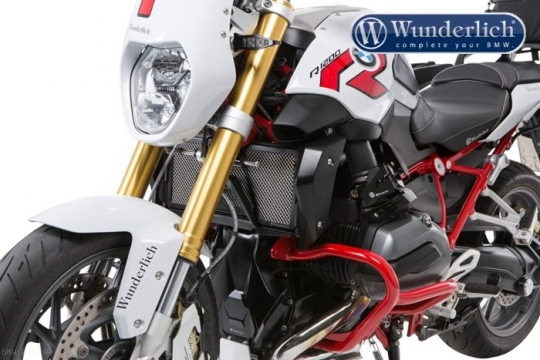 radiator guard by wunderlich bmw r1200r 2017 31962002. Black Bedroom Furniture Sets. Home Design Ideas