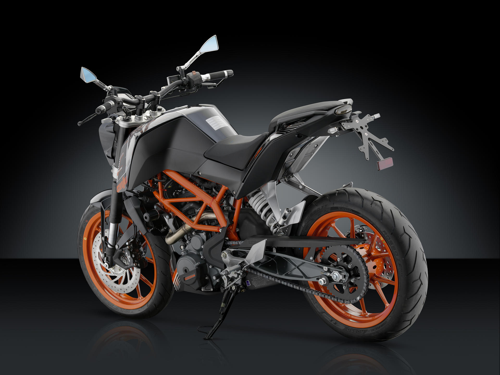 Right Side Engine Guard By Rizoma Pm460k Ktm 390 Duke