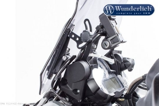 screen reinforcement by wunderlich bmw r1200gs adventure. Black Bedroom Furniture Sets. Home Design Ideas