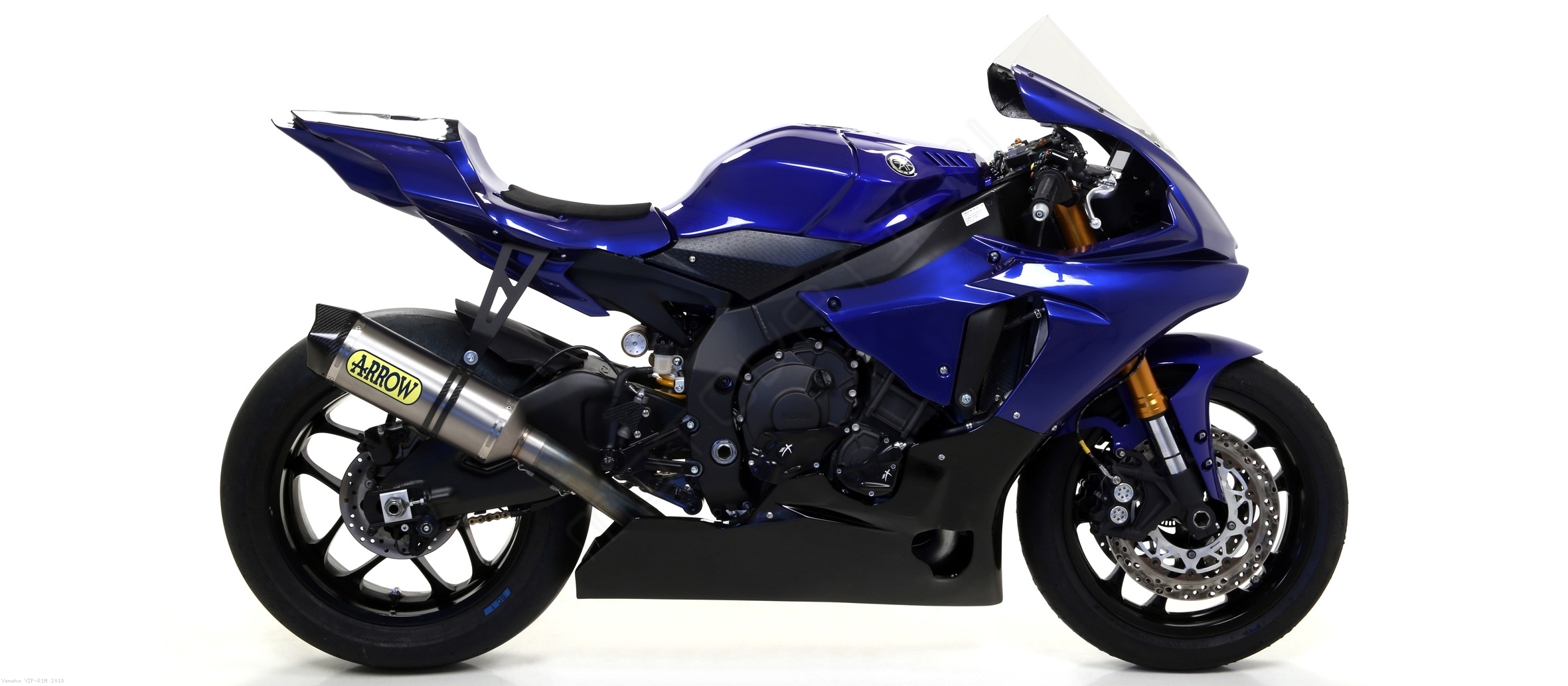 Competition Full Exhaust System By Arrow Yamaha Yzf R1m