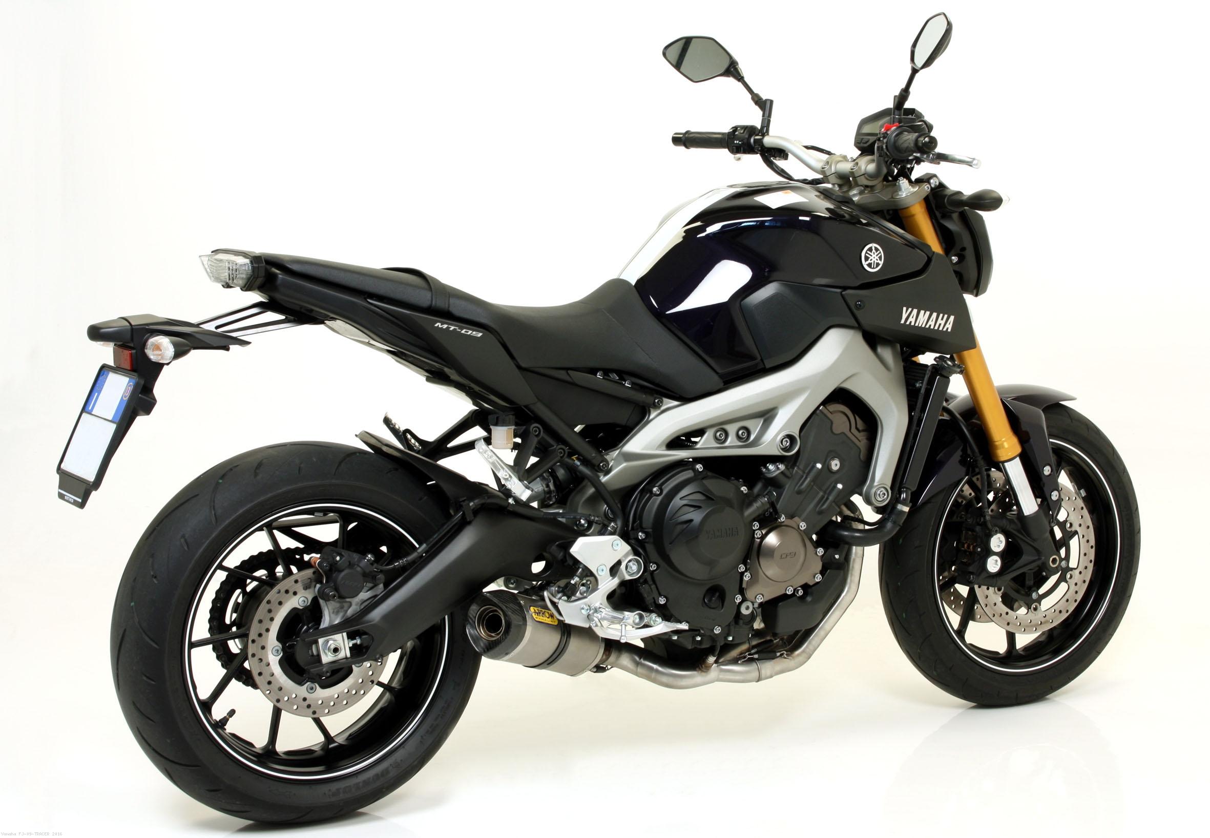 Street Thunder Full Exhaust System By Arrow Yamaha Fj 09 Tracer