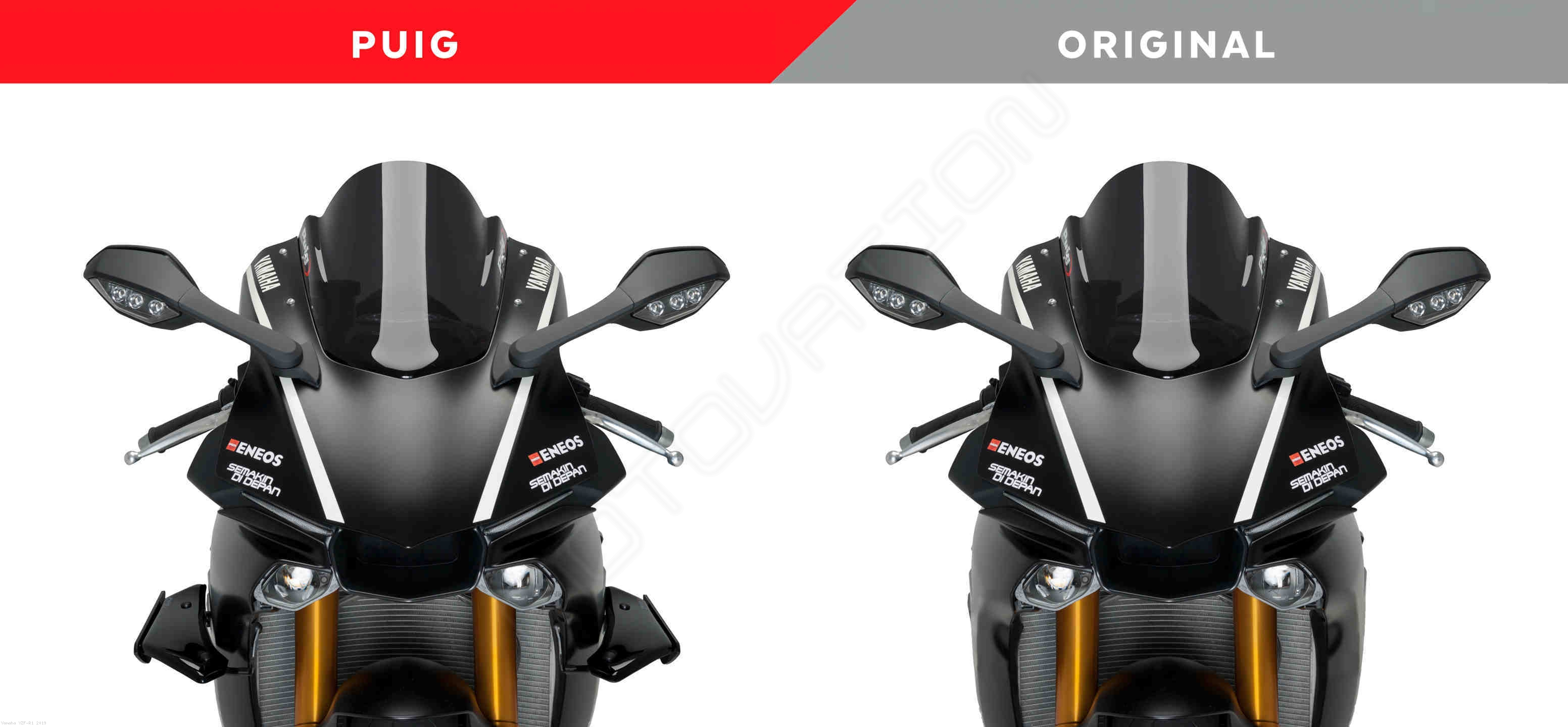 Downforce Spoiler Winglets By Puig Yamaha Yzf R1 2019