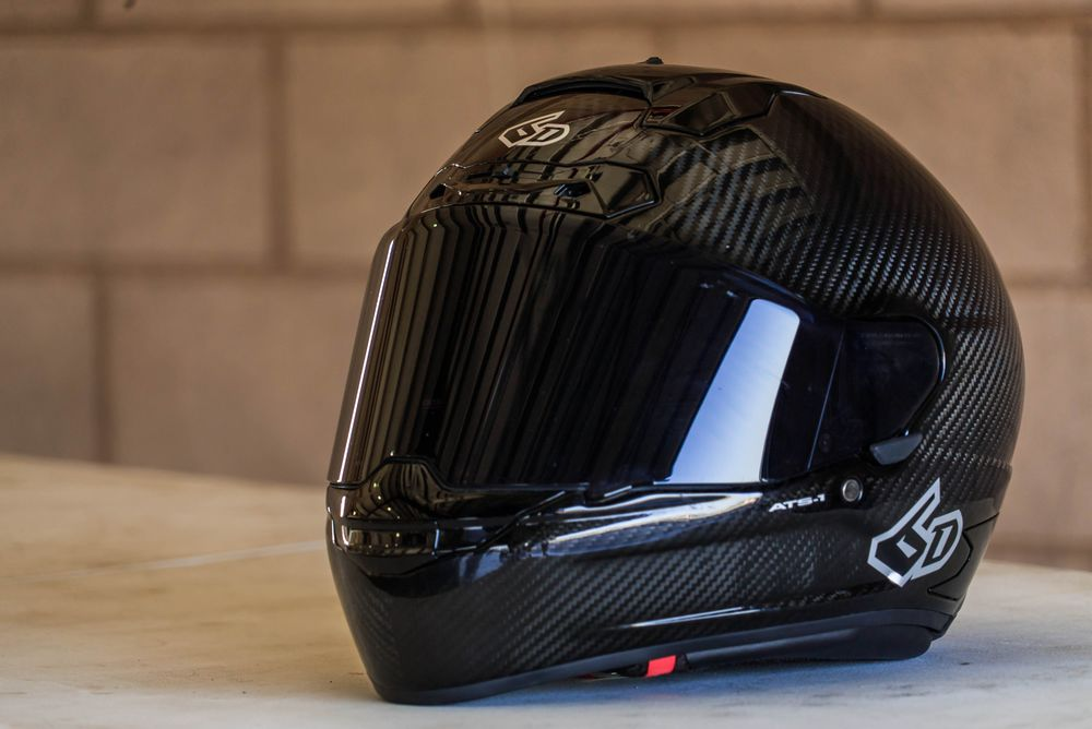 BMW Performance Exhaust >> ATS-1 Carbon Fiber Helmet by 6D Helmets (ATS-1)