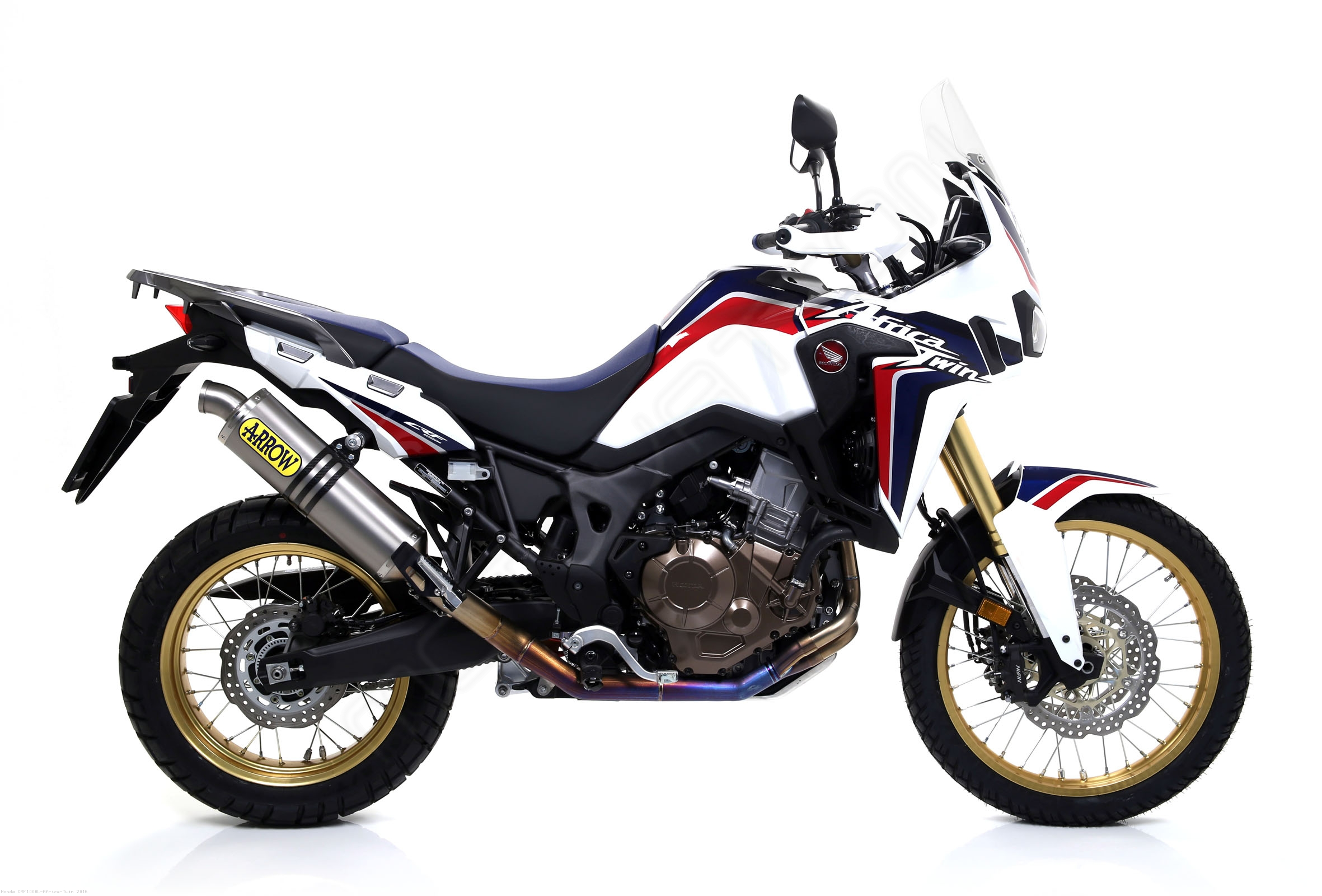 Anium Racing Full System Exhaust By Arrow Honda Crf1000l Africa Twin 2016