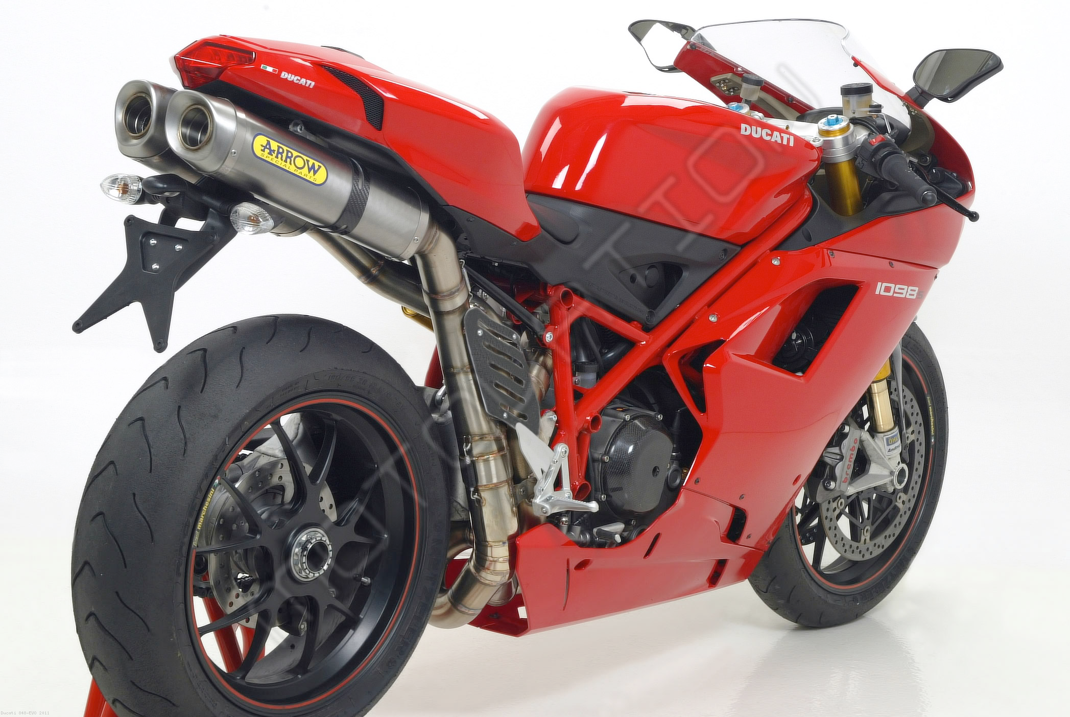 ... Slip-On Exhaust by Arrow Ducati / 848 EVO / 2011 ...