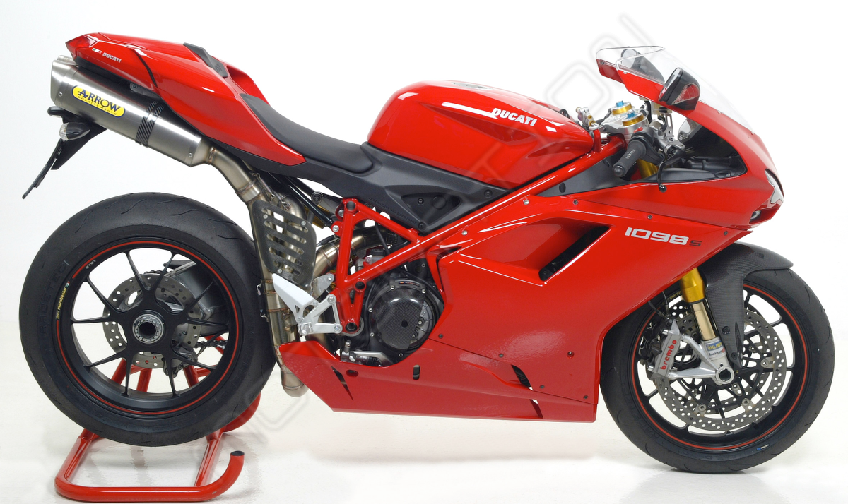 Ducati 1098r Full Exhaust By Arrow