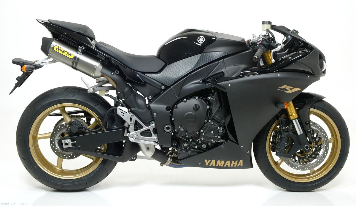 Race-Tech Slip-ons by Arrow Yamaha / YZF-R1 / 2010 (71735AO)