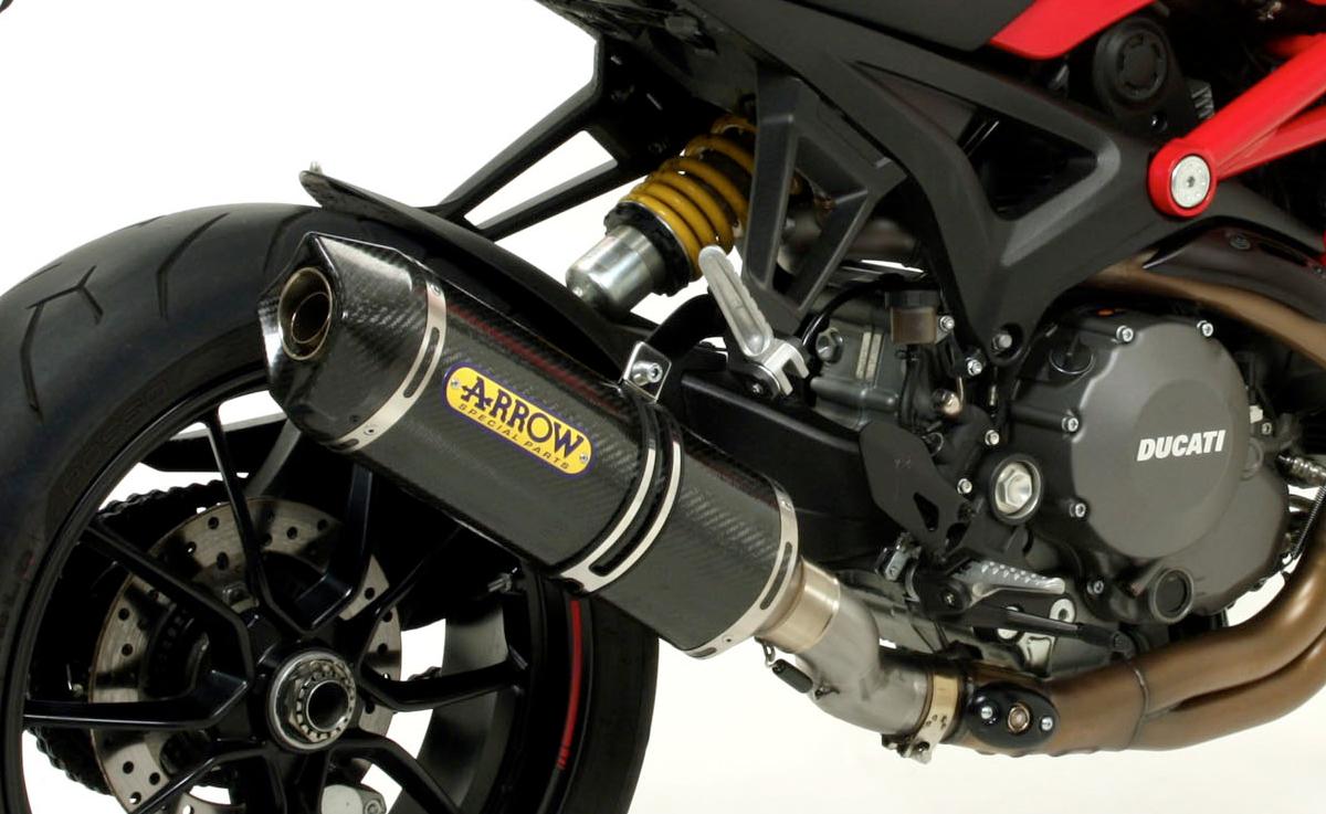 Ducati Monster 1100 Evo Race Tech Slip On Exhaust By Arrow 848 Fuse Box