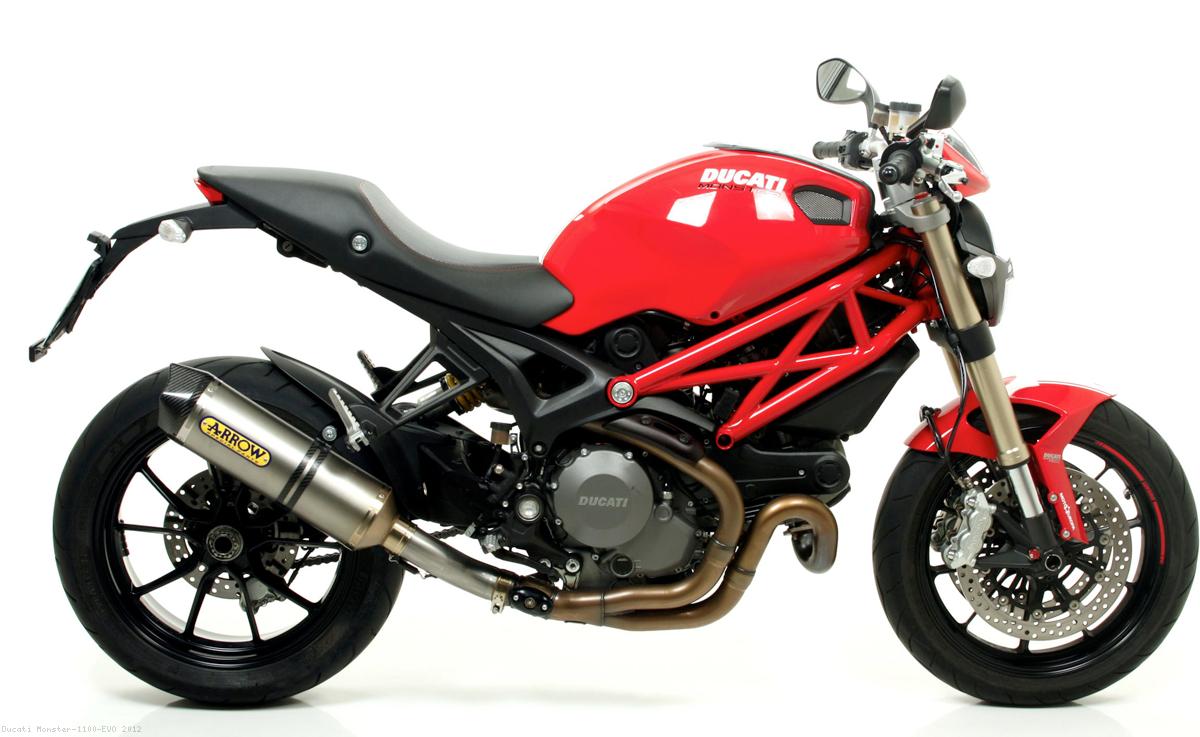 Race Tech Exhaust By Arrow Ducati Monster 1100 Evo 2012 71786ak Hypermotard 796 Engine Diagram Valve