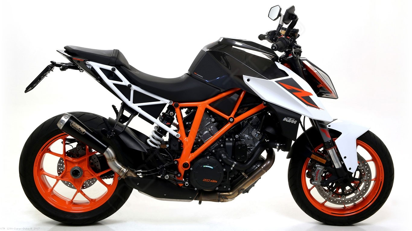 pro race exhaust by arrow ktm 1290 super duke r 2017. Black Bedroom Furniture Sets. Home Design Ideas