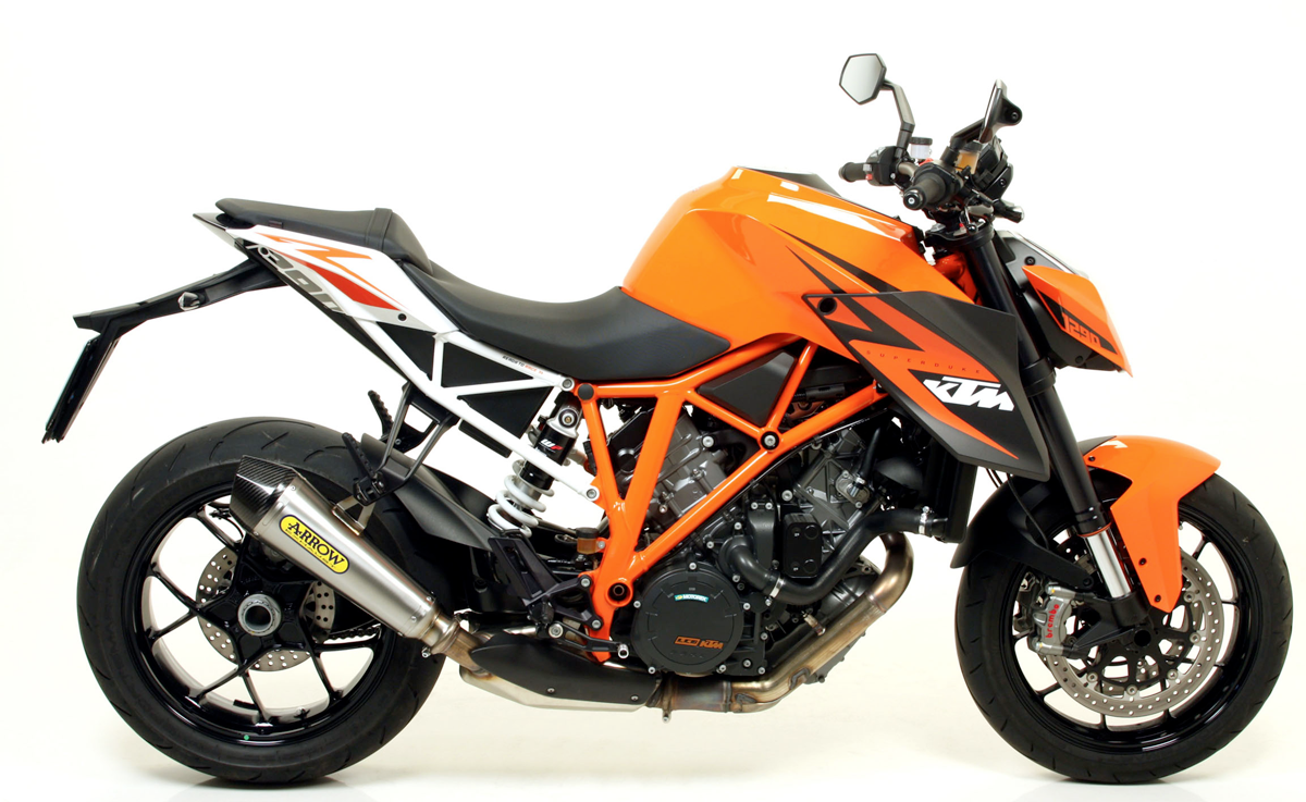 ktm 1290 superduke r x kone exhaust by arrow. Black Bedroom Furniture Sets. Home Design Ideas