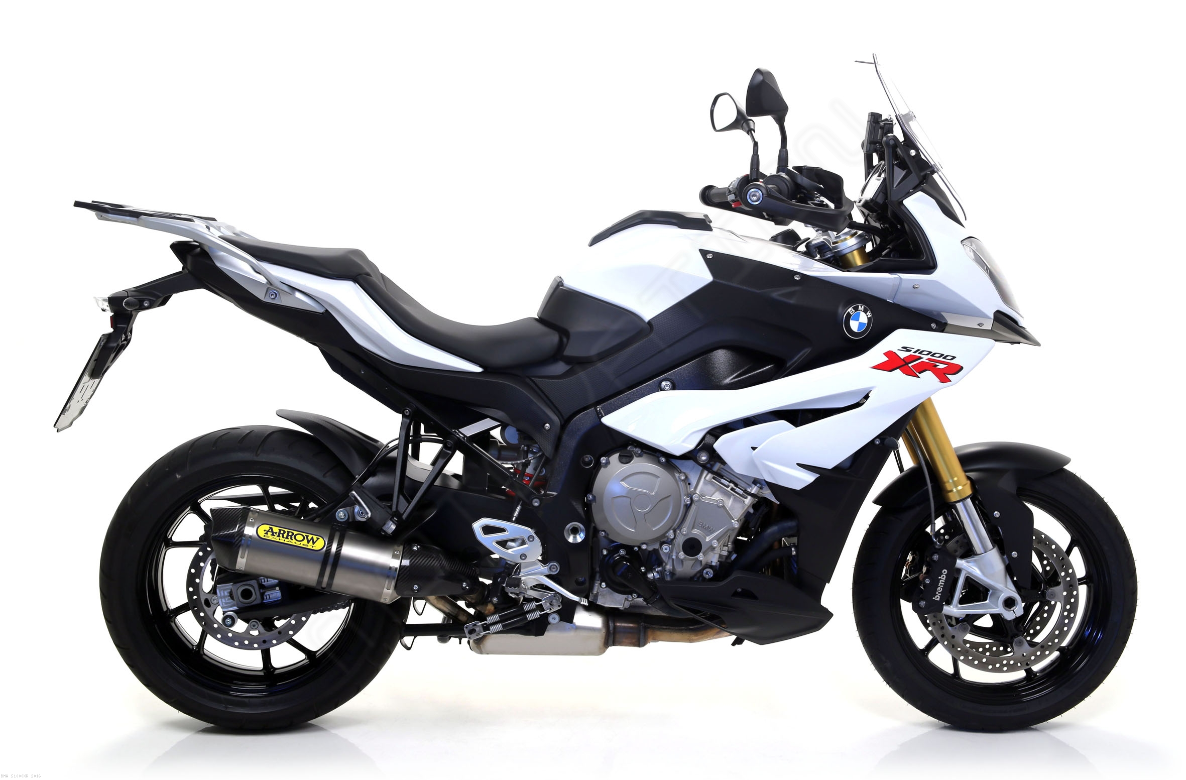 race tech exhaust by arrow bmw s1000xr 2016 71837. Black Bedroom Furniture Sets. Home Design Ideas