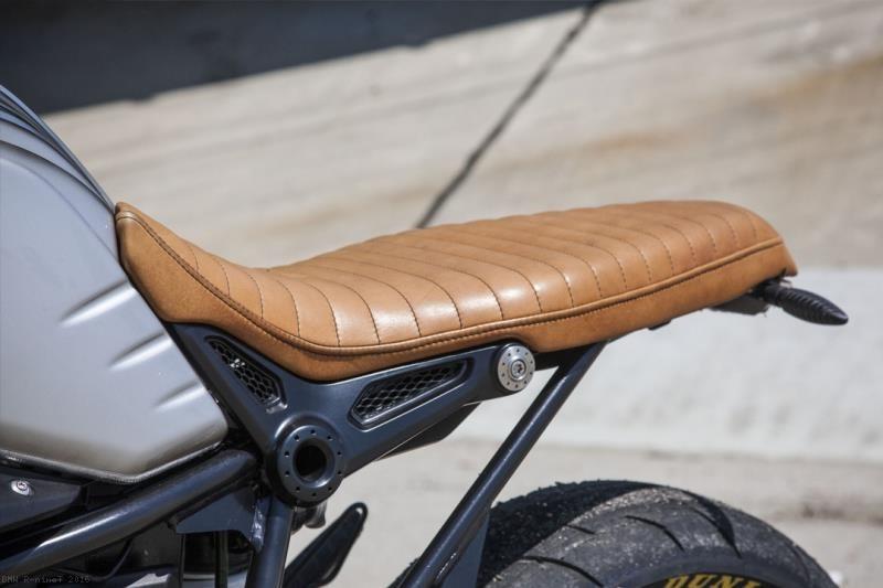 flat out enzo seat by roland sands bmw r ninet 2016. Black Bedroom Furniture Sets. Home Design Ideas