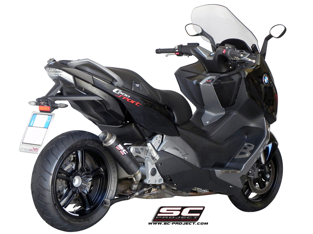 bmw c600 sport gp m2 exhaust by sc project. Black Bedroom Furniture Sets. Home Design Ideas