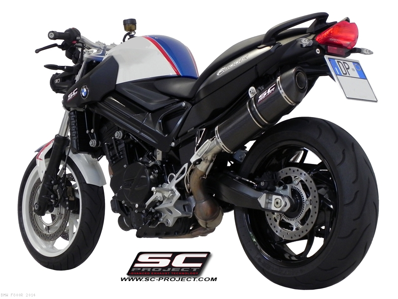Oval Exhaust By Sc Project Bmw F800r 2014 B01 02